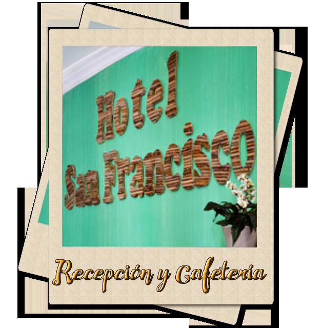 Recepción y Cafetería