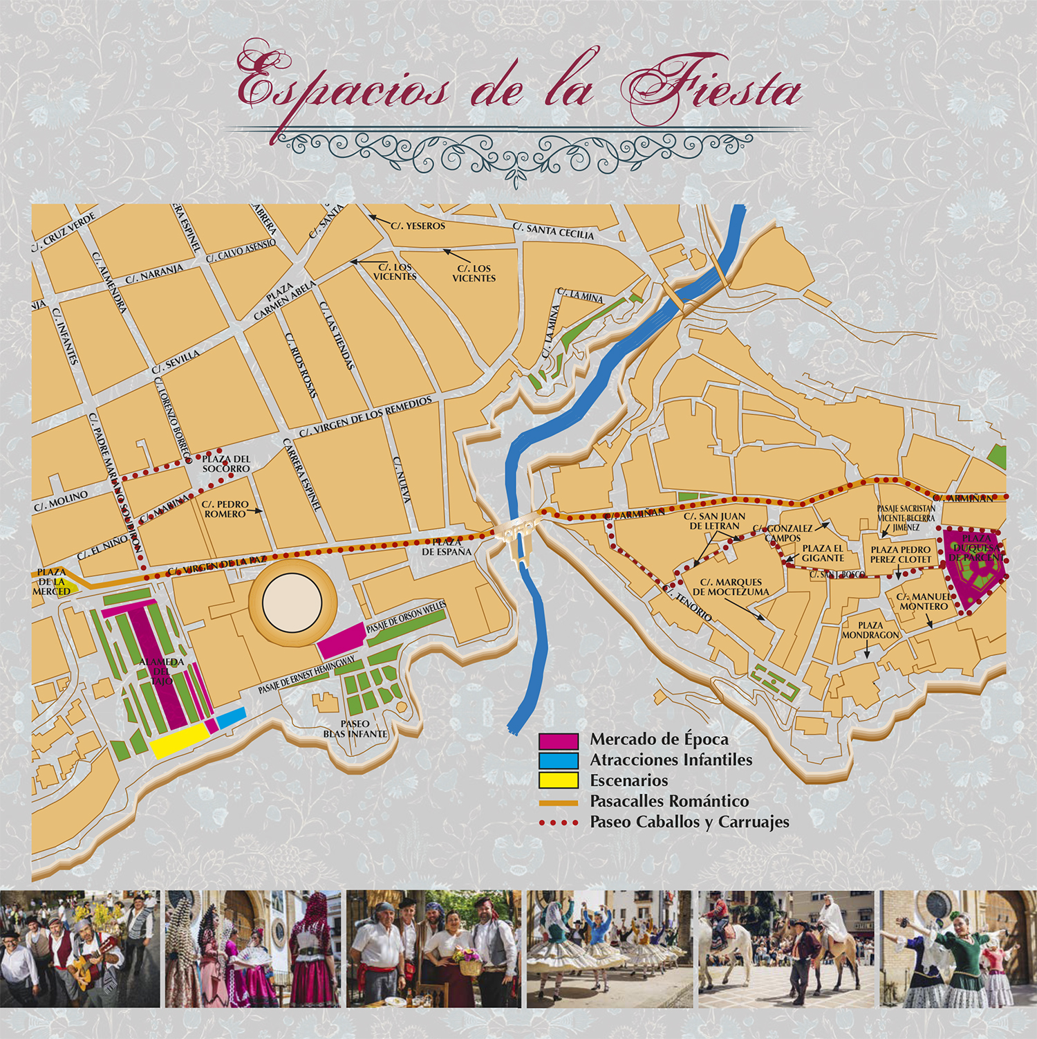 Espacios de la Fiesta (Mapa)