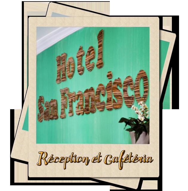Réception et Cafétéria