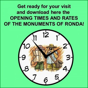 Opening times and rates of the monuments of Ronda_Hotel San Francisco