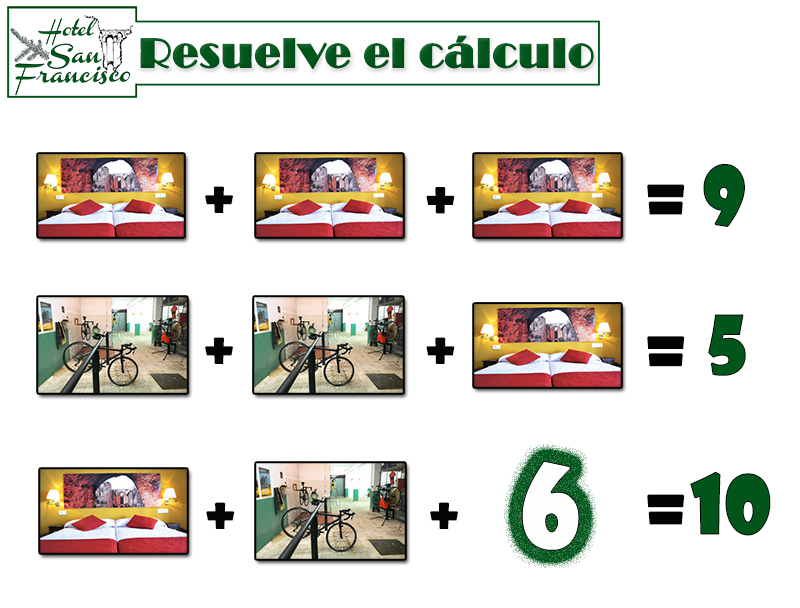 juego calculo resultado